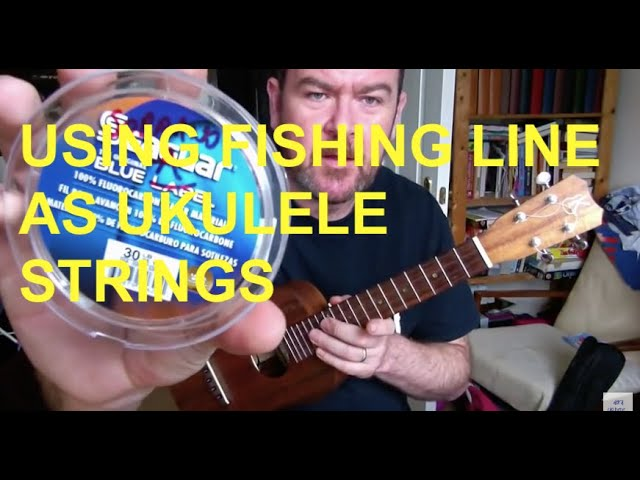 Ukulele Fish Fishing Line as Ukulele