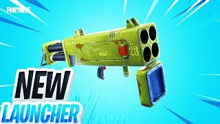 New QUAD LAUNCHER Coming to Fortnite TOMORROW...