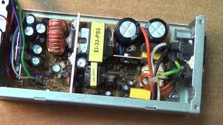 Xerox 510 DR-150FLEX repair power source ремонт блоку живлення Power Good відсутній