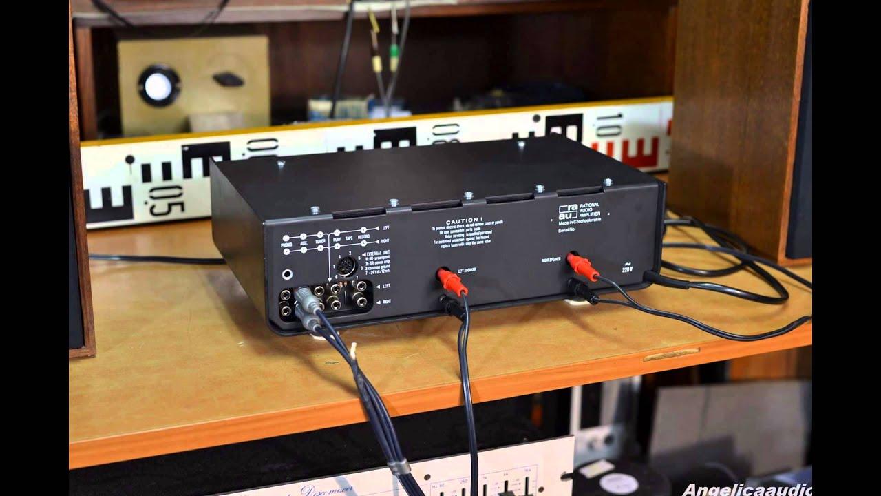 aura - Rational Audio Amplifier - Photos