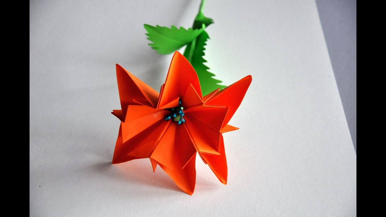 kwiaty z papieru krok po kroku   paper flower diy