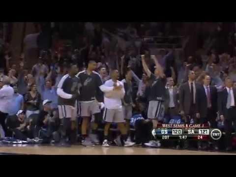 FINAL(2OT): Spurs 129, Warriors 127 | GM1 RD2 |