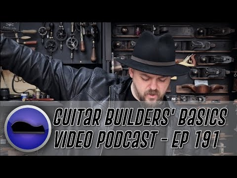 Will Carbon Fiber rods affect Truss Rod adjustability? - Guitar Builder's Basics -  Episode 191
