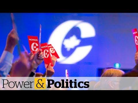 Conservative leadership race