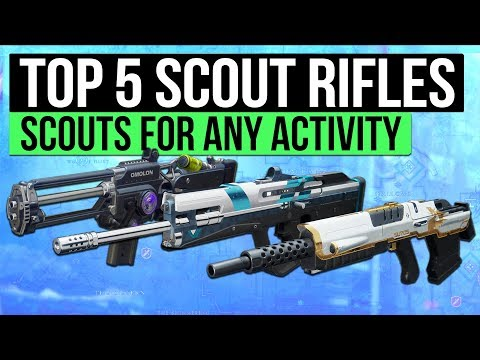 Destiny 2 | Top 5 Scout Rifles for Any Activity! (Best Scout Rifles Guide)