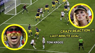 Download Video LIHAT REAKSI GILA SUPPORTER GERMANY USAI TONI KROOS CETAK GOL DI INJURY TIME MP3 3GP MP4