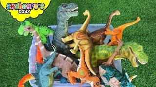 DINOSAUR FIGHT in Box! Skyheart Toys dinosaurs for kids jurassic battle