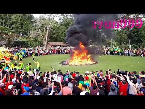 Ritual pembakaran 9 Naga.CAPGOMEH 2018,SINGKAWANG SPEKTAKULER.