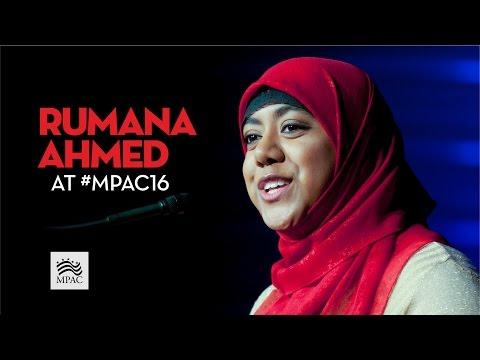 Rumana Ahmed Speech #MPAC16
