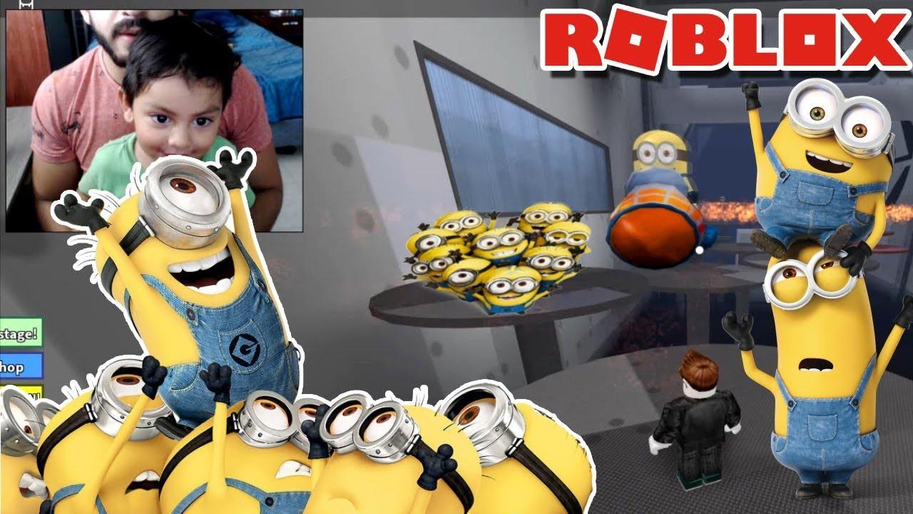 Escapando con los Minions | Juego de Aventura para niños - YouTube