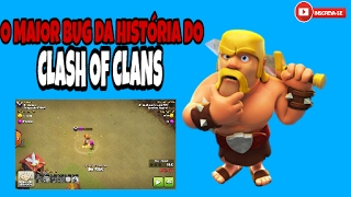 HACK DE CLASH OF CLANS!?O MAIOR BUG DA HISTÓRIA DO CLASH OF CLANS- A ARQUEIRA INVENCÍVEL!