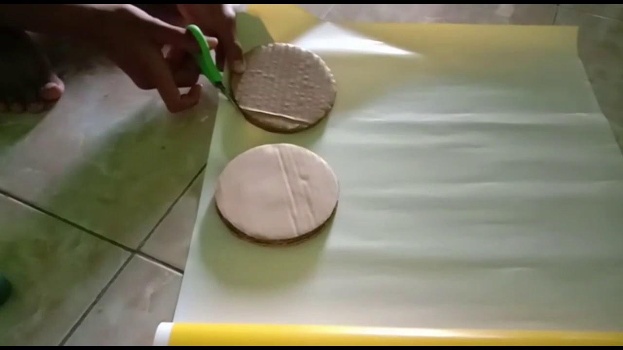 Membuat Kerajinan Tangan Dari Kardus Bekas - YouTube