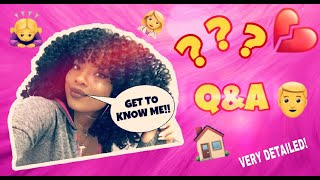 Very Detailed Q&A// Get To Know Your New Favorite Youtuber!!