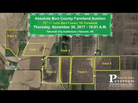 Absolute Burt County Farmland Auction.