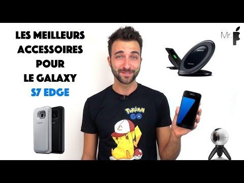 Les meilleurs accessoires pour le Galaxy S7 edge