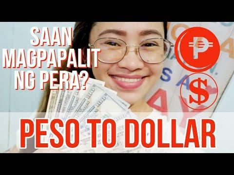 PESO TO DOLLAR CHANGE RATE: SAAN MAS MAGANDA MAGPAPALIT?