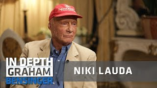 Niki Lauda: Racing after nearly dying