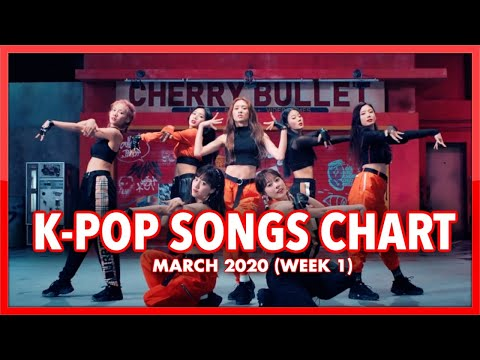 (TOP 100) K-Pop Songs Chart | March 2020 (Week 1)