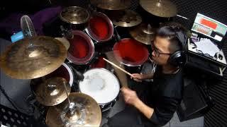 蔡恩雨 Priscilla Abby - Burn (Drum cover)