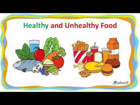 healthy food examples