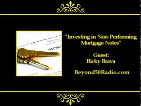 Investing in Non-Performing Mortgage Notes