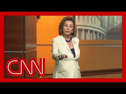 Pelosi hits back at reporter who asked if she 'hates' Trump