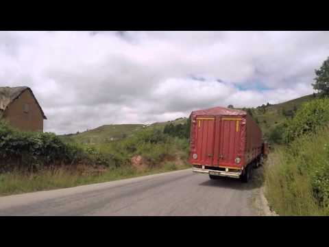 Madagascar Route Antsirabe Antananarivo, Gopro / Madagascar Road Antsirabe Tananarive, Gopro
