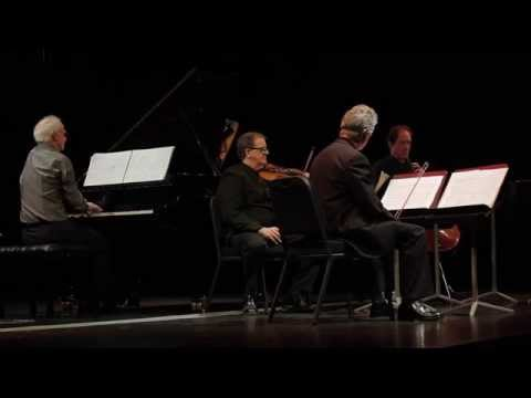 Hugh Tinney with the Vanbrugh String Quartet. C. S. L. Parker Piano Quintet IV