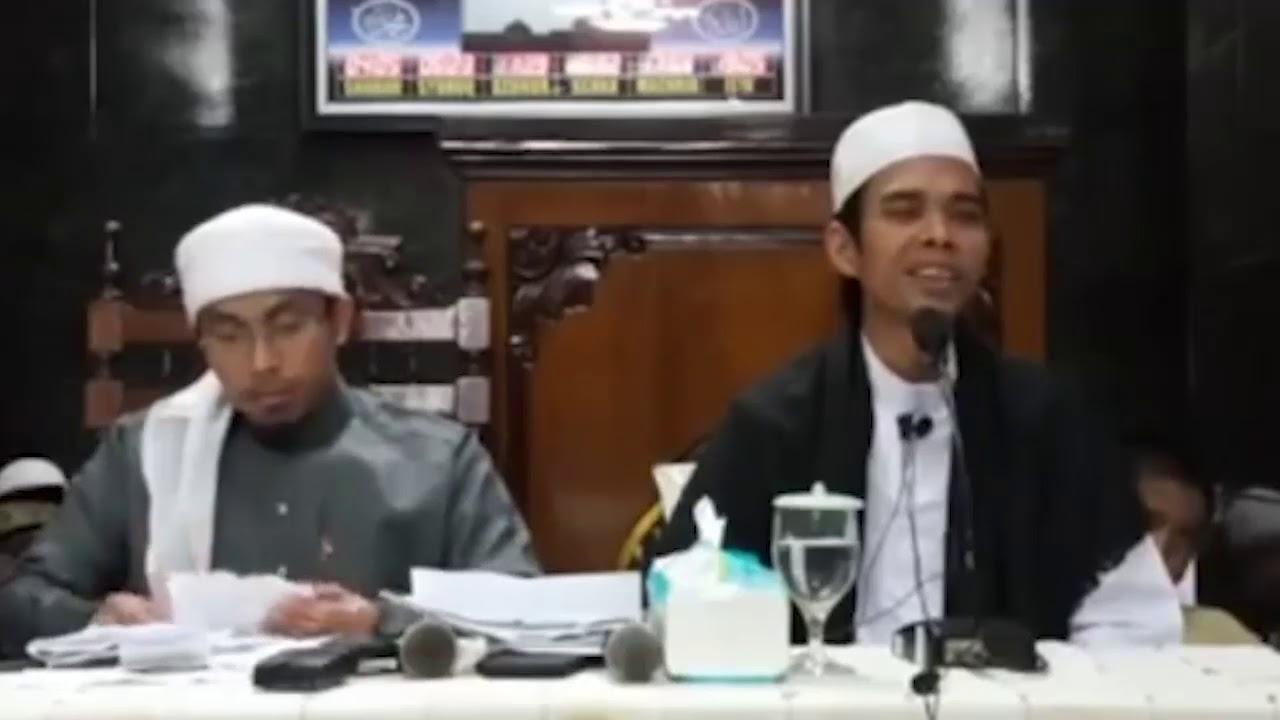 Lucu Ustadz Maaher At Thuwailibi Di Candai Ustadz Abdus Shomad Lc Ma Youtube