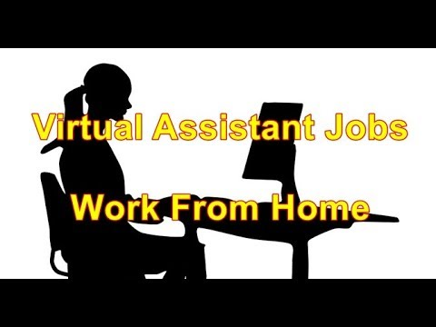 virtual assistant jobs work from home