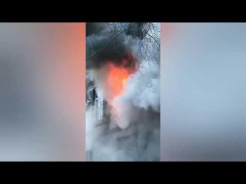 СТУДЕНТЫ ВЫПРЫГИВАЮТ С ОКОН. Пожар в ЭКОНОМИЧЕСКОМ Колледж одесса