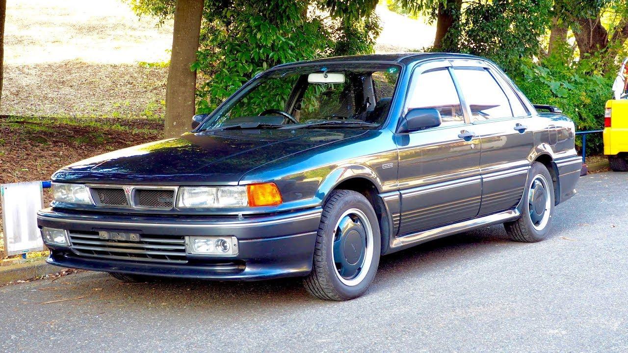 1991 mitsubishi amg galant type ii - tunedamg (usa import) japan