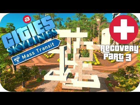 Cities Skylines Gameplay: THE HERO MEMORIAL Cities: Skylines Mods MASS TRANSIT DLC S2 #3