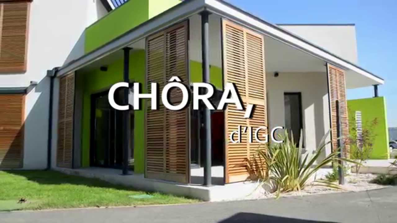 Maison CHÔRA d\'IGC - YouTube