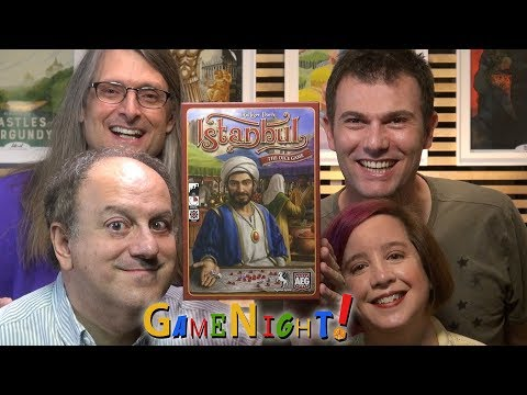 Istanbul: The Dice Game - GameNight Se6 Ep14 - How to Play and Playthrough