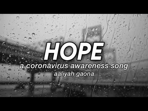 Aaliyah Gaona - Hope: A Coronavirus Awareness Song (Official Lyric Video) #HOPE