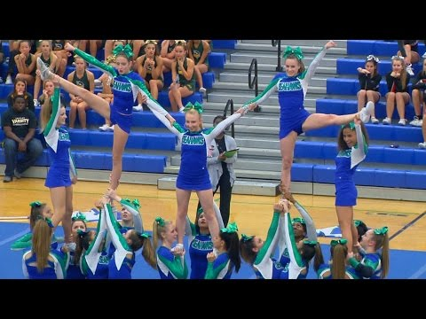 Conference 6 Competitive Cheer Semi-finals 2015 at South Lakes