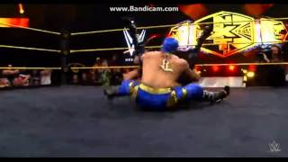 Kalisto New Finisher (New NXT Tag Team Champions)