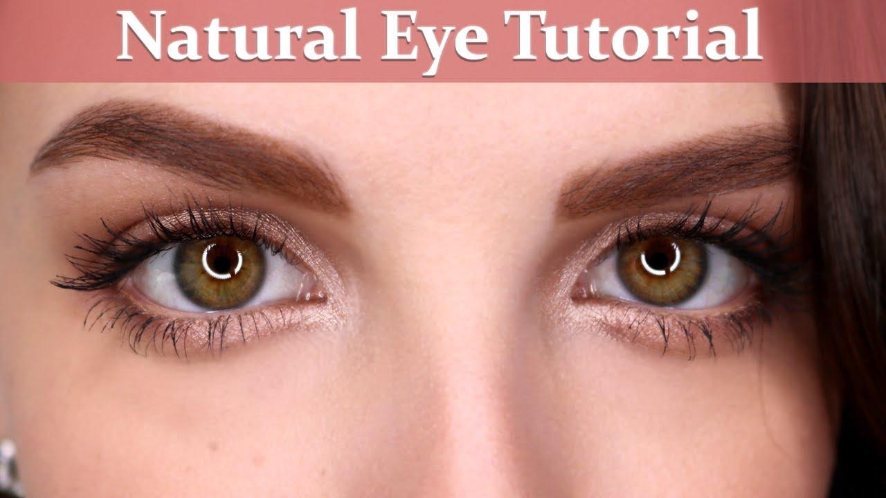 Natural Eyeshadow Tutorial  Beginner Makeup Tips