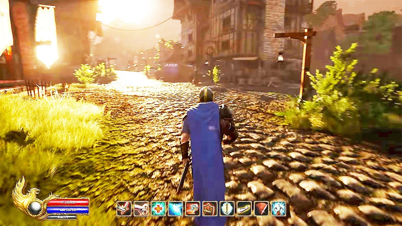 Ashes Of Creation 10 Minutes Gameplay Demo New OPEN WORLD