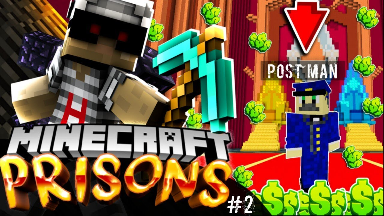 *The OP PoStMaN*!Minecraft PE PRISON Server Let's Play - [MCPE 1 12 0+  PRISON]