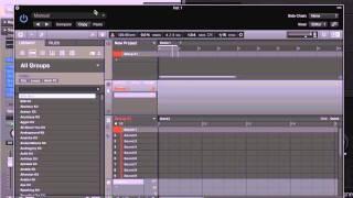 Logic Pro X (10.1) - Using Maschine & Drummer
