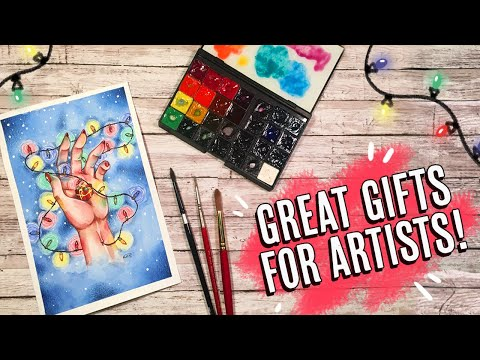 Gift Guide For The Artist In YOUR Life! (UNDER $10 Items And Up!)