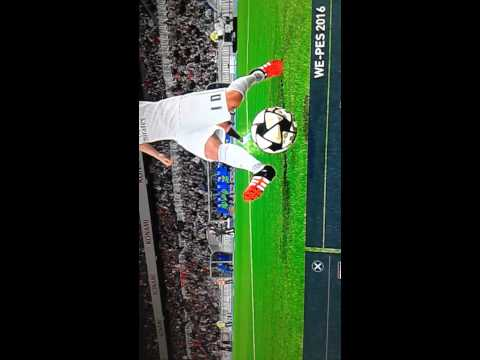 amazing goal of pes non stop player