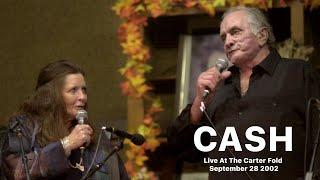 Johnny Cash Live at The Carter Fold September 28 2002