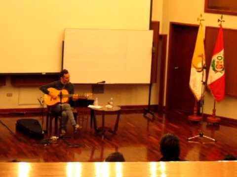 Noctiluca - Jorge Drexler en la PUCP 2011