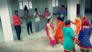 Pahari Band Baaje Dance at Maa Chaturbhuja Temple ||  Himachali Culture || Desi Dance || H.P. Mandi