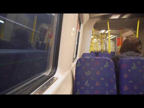 Sweden, Stockholm, subway ride from Fruängen to Telefonplan
