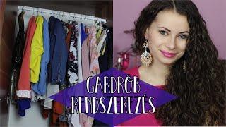 9 tipp ruhatár rendszerezéshez | Gardrób detox
