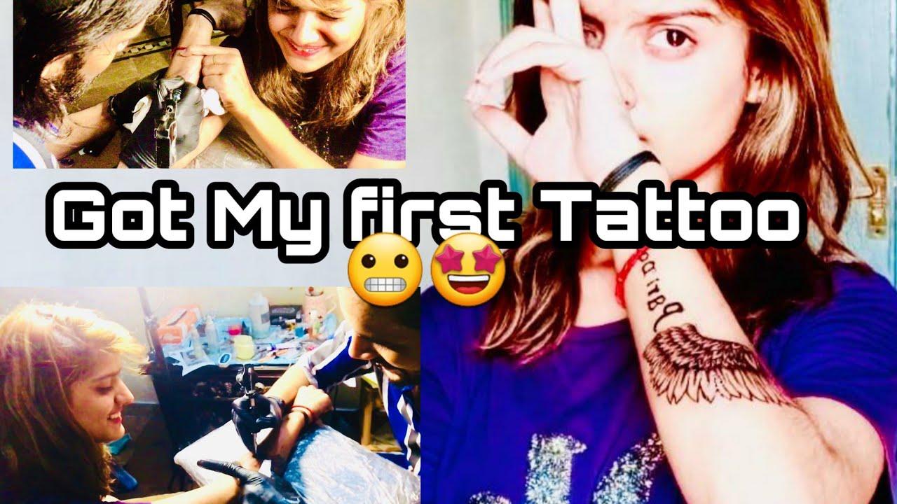 I got my fisrt Tattoo 😱🥰